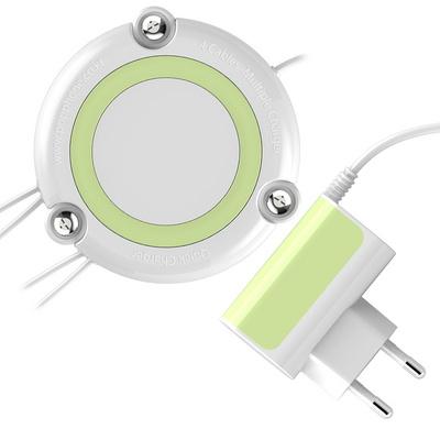 팝폰 2.4A 4in1 USB 멀티충전기 (5+8+C+C) TC49