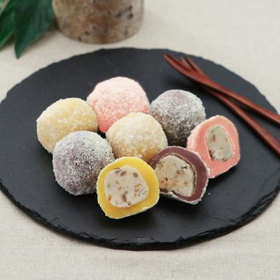 시루아네 삼색 두텁떡 개별포장(60g씩 15개 900g)