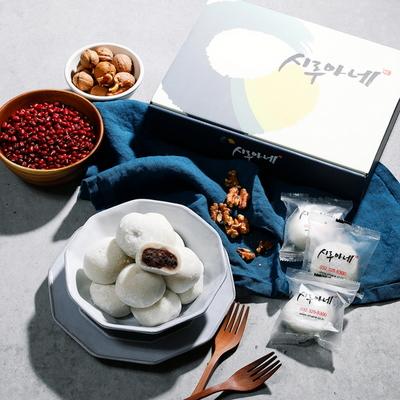 시루아네 찹쌀떡 실속형 패키지(60g씩 30개 1.8kg)