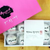 쫀득쫀득 맛있는 떡허니 왕찹쌀 합격떡 100g 10개