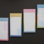 TIME FRAME By Gradation Schedule Pad - M