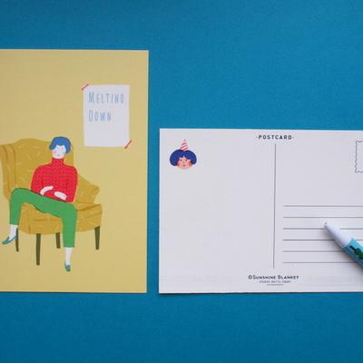 선샤인블랭킷 포스트카드 10 designs