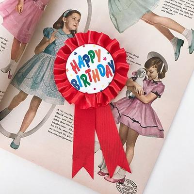 Birthday Ribbon 해피버스데이리본(레드)