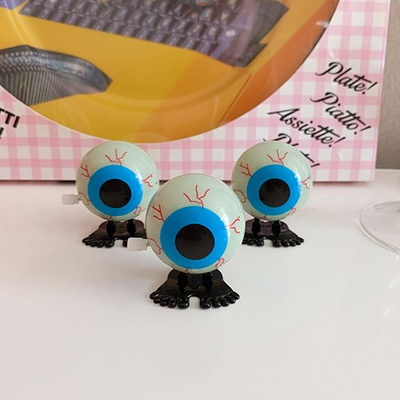 야광  Eye Ball Wind-up Toy 야광눈알태엽토이