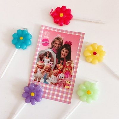 Lollipop Flower Candle 롤리팝플라워캔들