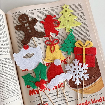Big Christmas Wood Picks 빅윈터우드픽