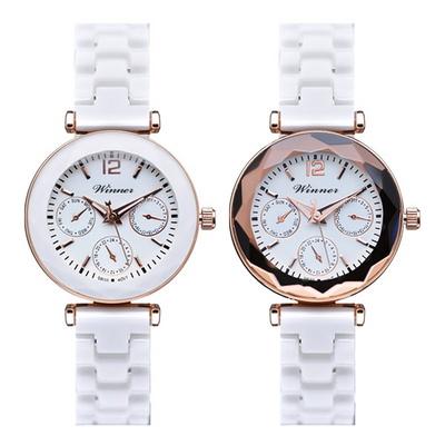 여성시계 여자시계 팔찌시계 세라믹시계 손목시계 D-9023A