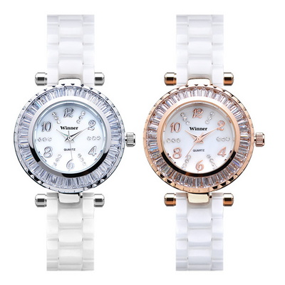 여성시계 여자시계 팔찌시계 세라믹시계 손목시계 SW-1296A