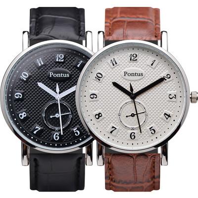 남성시계 남자시계 가죽시계 손목시계 KE-1356B