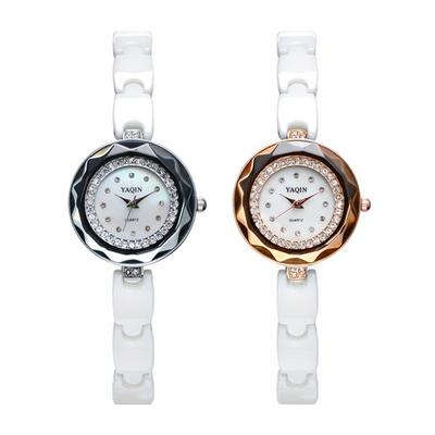 피닉스 여성시계 여자시계 메탈시계 팔찌시계 세라믹시계 손목시계 YA-8017A