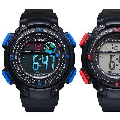 피닉스 남성시계 남자시계 전자시계 우레탄시계 손목시계 LS-1109A