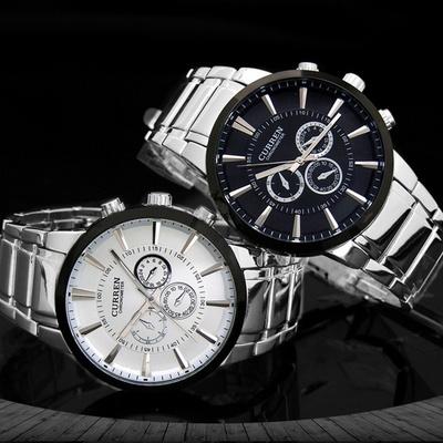 손목시계 남성시계 남자시계 메탈시계 CU-8001A