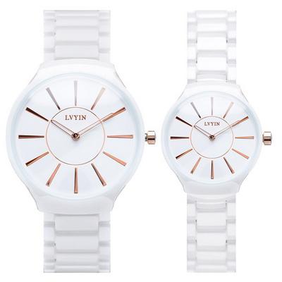 커플시계 남성시계 여성시계 세라믹시계 손목시계 LV-6825B