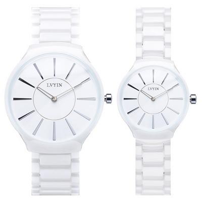 커플시계 남성시계 여성시계 세라믹시계 손목시계 LV-6825A