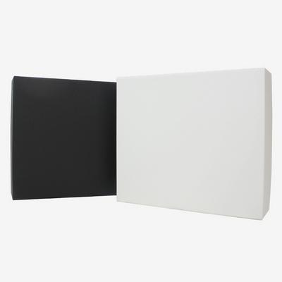 무지 선물포장 싸바리 박스 블랙-화이트
