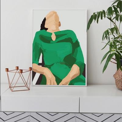 초록여인 (50x70)