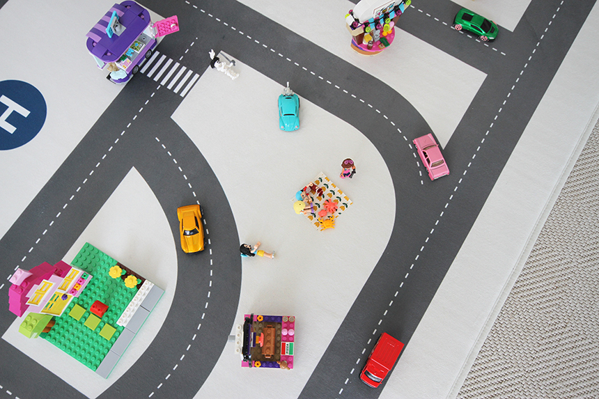 두잉썸 도로 놀이매트 - 두잉썸, 47,000원, 디자인러그, 디자인러그