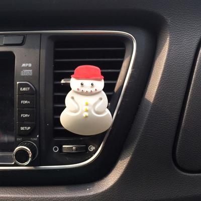 눈사람 석고방향제 ( 실내고리용-차량용)