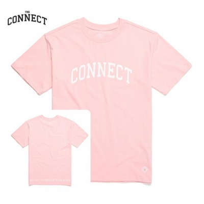 THE CONNECT Basic T-Shirt(PINK)