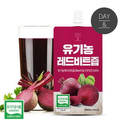 맛있는 유기농 레드비트진액200ml 1팩