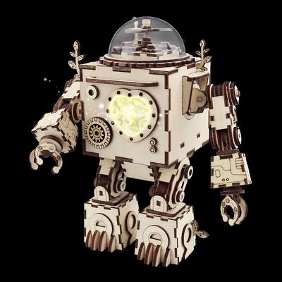 뮤직박스 오르골- 3D 입체퍼즐 로봇 오르페우스
