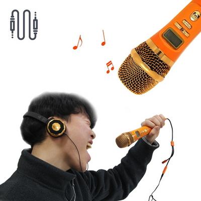 나만의 코인노래방 블루투스 마이크와 헤드폰 세트