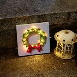 LED 꼬마 원형트리 스트링아트 만들기 패키지 DIY