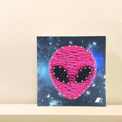 꼬마 외계인 스트링아트 만들기 패키지 DIY (EVA)