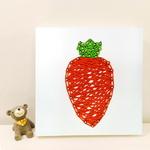 꼬마 당근 스트링아트 만들기 패키지 DIY (EVA)