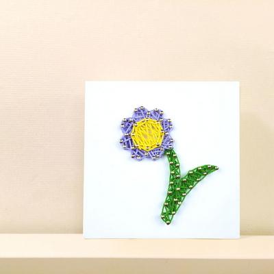꼬마 꽃 스트링아트 만들기 패키지 DIY (EVA)