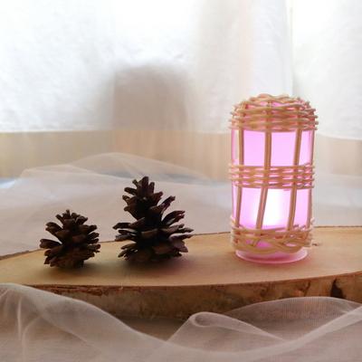 라탄 무드등 두개 만들기 패키지 DIY