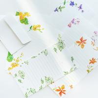 들꽃 미니 편지지 (6종 디자인선택)