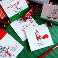 캘리그라피 (크리스마스 카드)-5종 선택