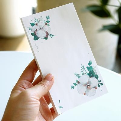 메모패드 (목화) 100p -지퍼백 보관 포장