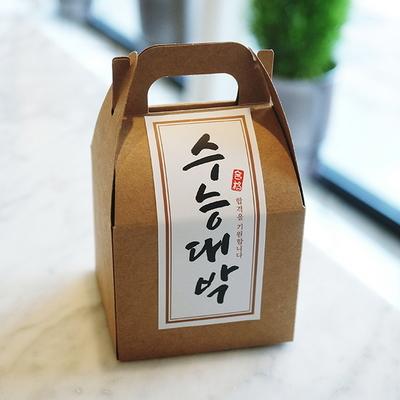 수능대박 스티커(50장) 슬림롱-화이트