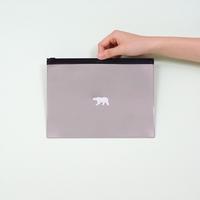 멸종위기동물 파우치 - BROWN