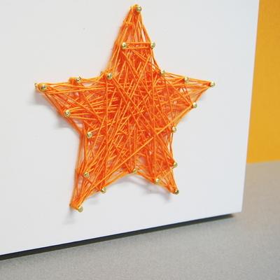 별 스트링아트(스펀지)