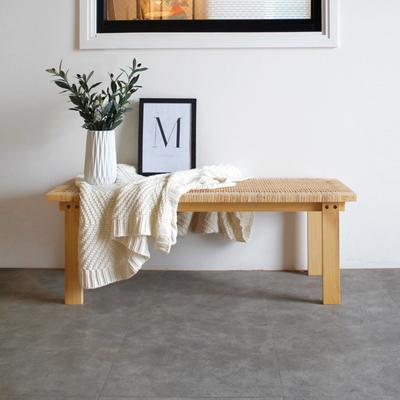 라탄 테이블