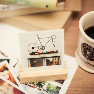 아날로그감성폴라로이드엽서-bicycle