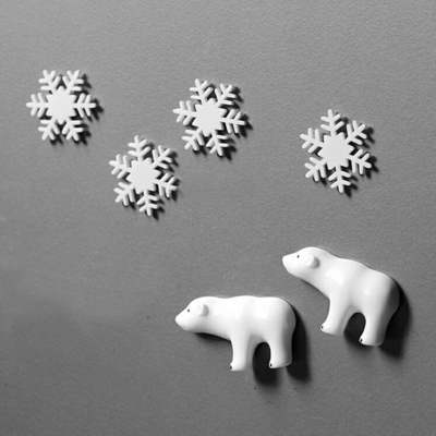 북극 냉장고 자석