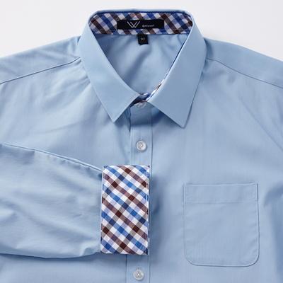 교복 블루셔츠