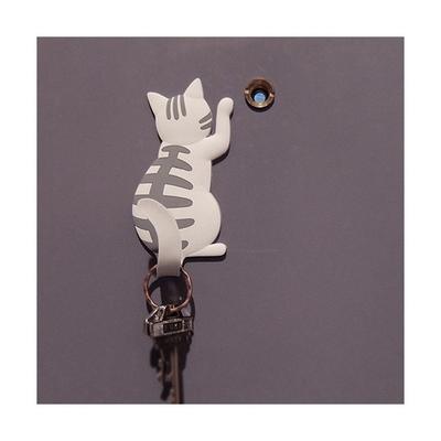 자석 고양이 홀더 냉장고자석 열쇠걸이