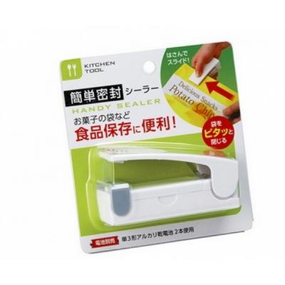 일본 휴대용 비닐 밀봉 접착 실링기 핸드실러