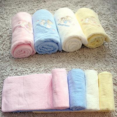 무형광 아기 신생아목욕타올 비치타올
