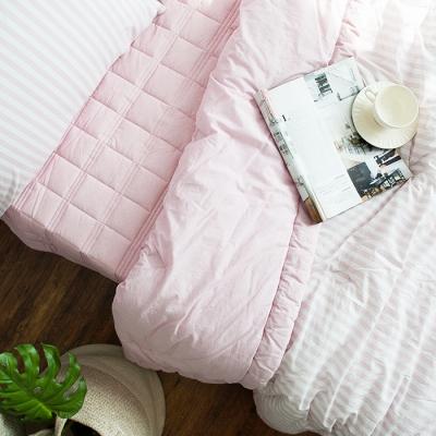 제이크워싱 싱글침구세트-핑크