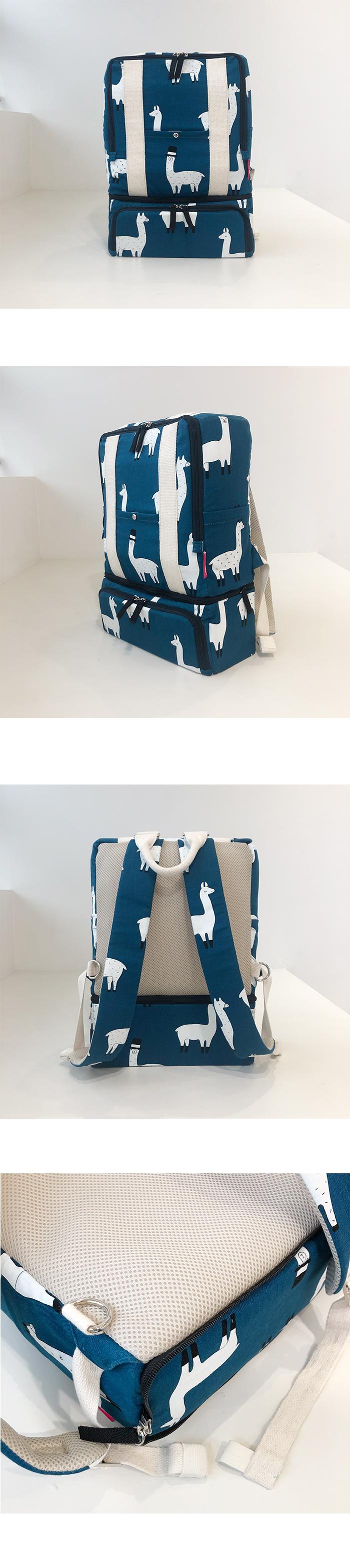 스플릿백팩 기저귀가방 - 캐리에이트, 135,000원, 파우치/보조가방, 보조가방