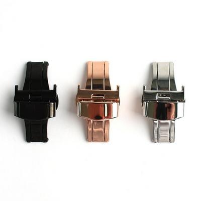 시계줄 전용 자동 버튼식 디버클 18mm