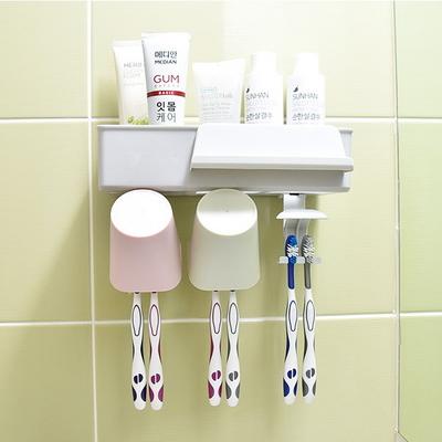 욕실 양치세트 칫솔걸이