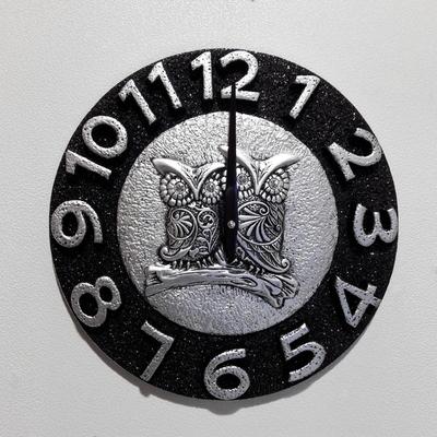 마블부엉이벽시계(25)