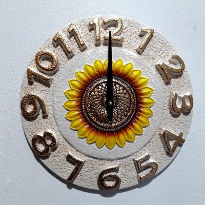 마블해바라기벽시계(25)